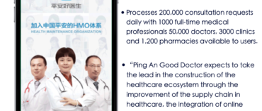 China Spotlight: Infographic – Ping An Good Doctor