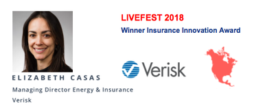 Verisk Pitch – LIVEFEST 2018 North America Insurance Innovation Awards