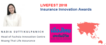 Muang Thai Life Pitch – LIVEFEST 2018 ASIA & ANZ Insurance Innovation Awards
