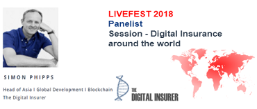 Tom Bobrowski from The Digital Insurer speaks @ Digital Insurance around the world panel session – Global LIVEFEST 2018