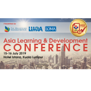 2019 Asia Learning and Development Conference
