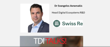 TDI Talks! Dr Evangelos Avramakis, Head of Digital Ecosystems R&D at Swiss Re Institute