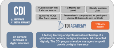 On-Demand Learning & Development in Digital Insurance has Arrived – The Certificate in Digital insurance
